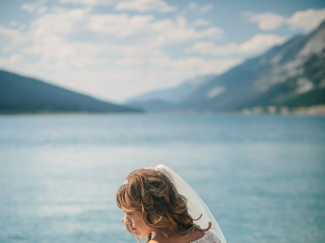 Paul and Krysten's wedding in Jasper, Alberta 39