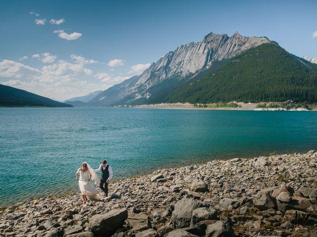 Paul and Krysten's wedding in Jasper, Alberta 40