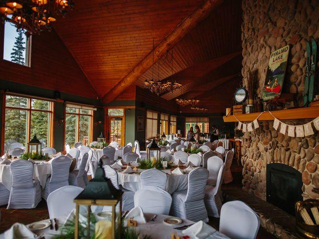 Paul and Krysten's wedding in Jasper, Alberta 44