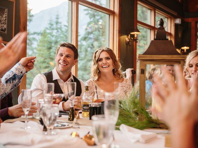 Paul and Krysten's wedding in Jasper, Alberta 47
