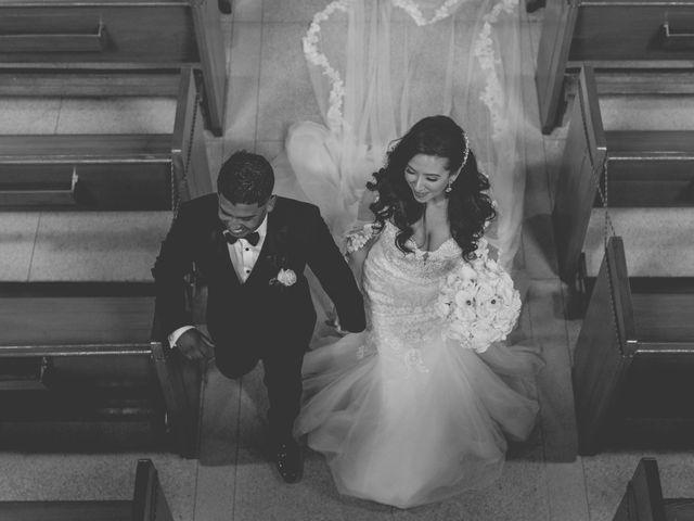 The wedding of Cristina  and Renzo