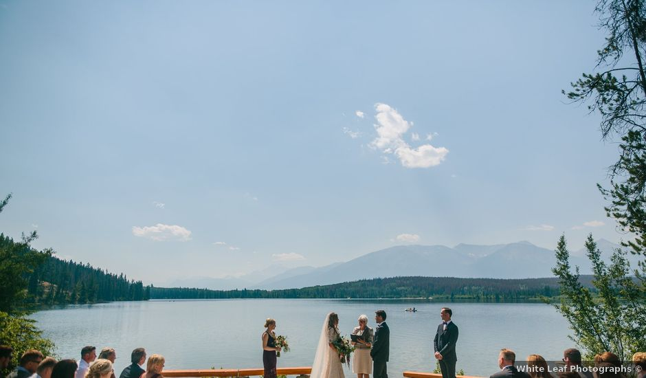 Paul and Krysten's wedding in Jasper, Alberta