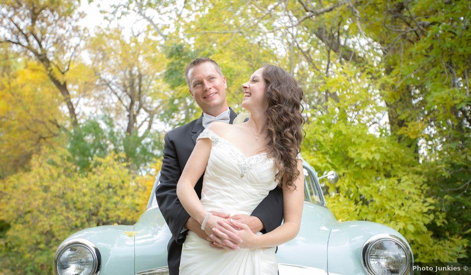 Chris and Diane's wedding in Edmonton, Alberta