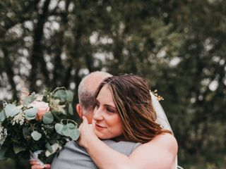 The wedding of Courtney and Michael 1