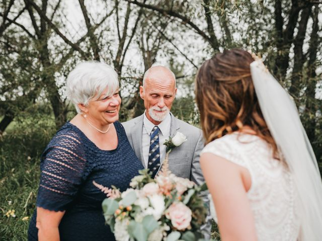 Michael and Courtney's wedding in Swan River, Manitoba 5