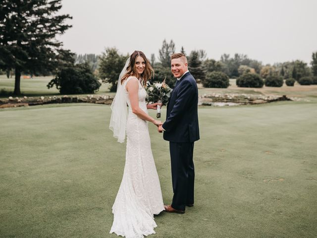 Michael and Courtney's wedding in Swan River, Manitoba 9