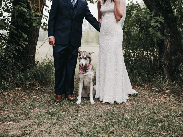 Michael and Courtney's wedding in Swan River, Manitoba 13