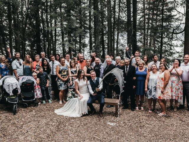 Michael and Courtney's wedding in Swan River, Manitoba 32
