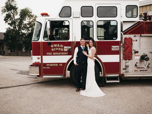 Michael and Courtney's wedding in Swan River, Manitoba 2