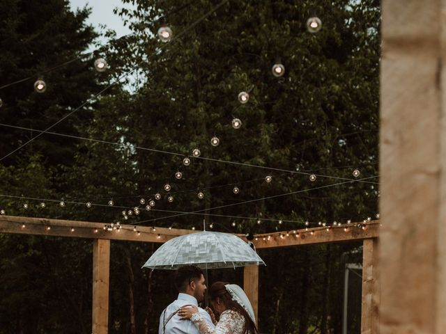 The wedding of Nadine and Riley