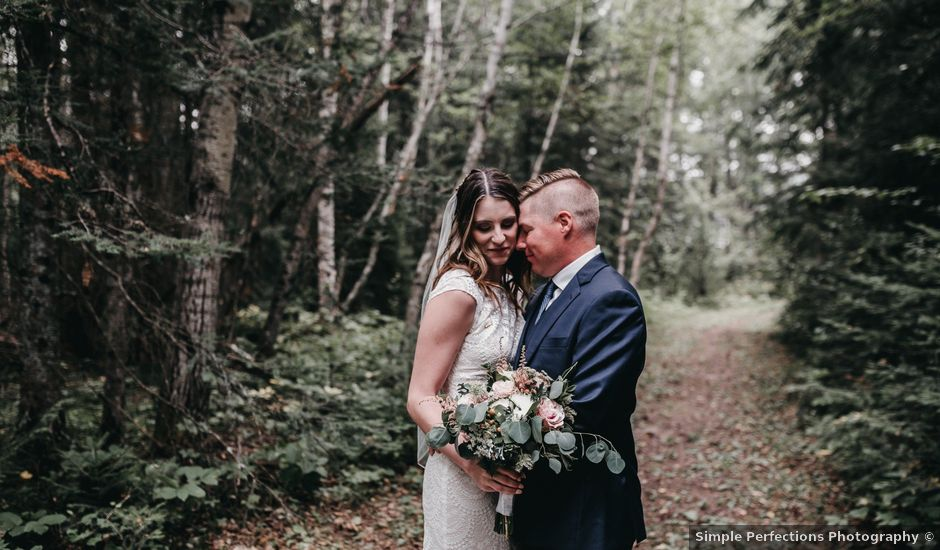 Michael and Courtney's wedding in Swan River, Manitoba