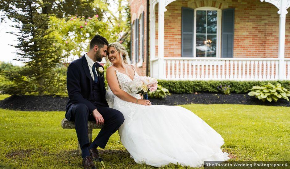 Dan and Kayla's wedding in Innisfil, Ontario
