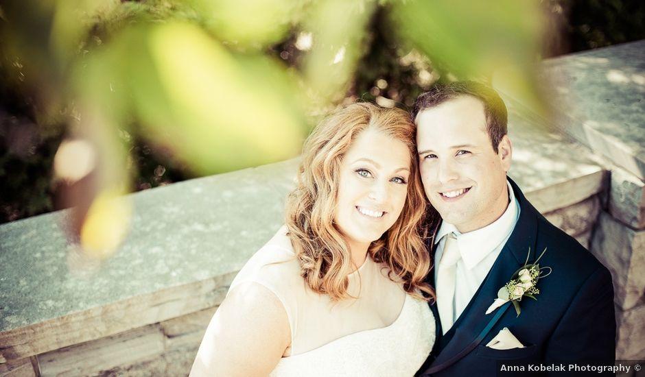 Todd and Yvonne's wedding in Burlington, Ontario