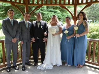 The wedding of Donna and Daniel