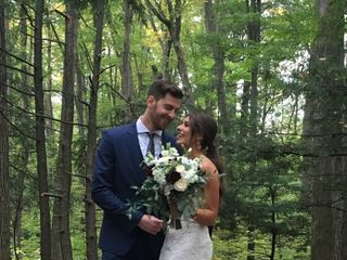 The wedding of Lisa  and Anthony
