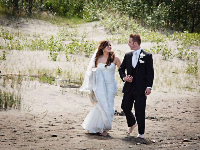 The wedding of Kim and Colton