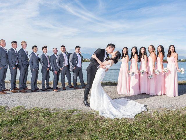 Dustin and Cindy's wedding in Surrey, British Columbia 14