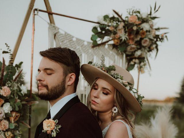 The wedding of Erika and Laz