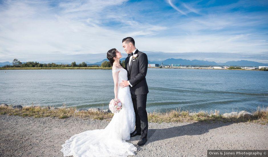 Dustin and Cindy's wedding in Surrey, British Columbia