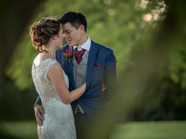 The wedding of Amy and Jeremy