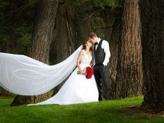 The wedding of Lucianna and Richard