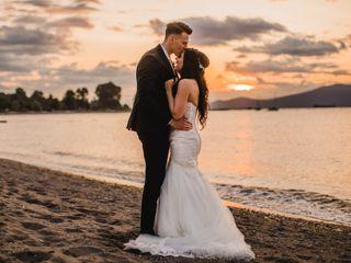 The wedding of Kristen and Jaden