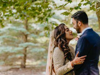 The wedding of Maha and Fahad
