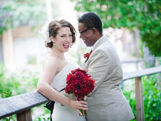 The wedding of Renee and Rebecca