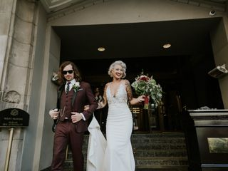 The wedding of Avery and Brady