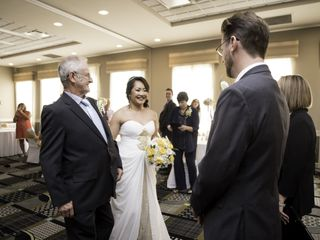 The wedding of Elaine and Robert 1