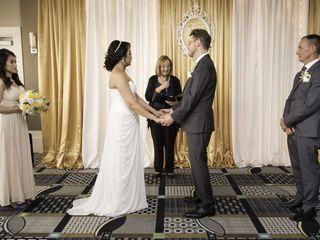 The wedding of Elaine and Robert 2