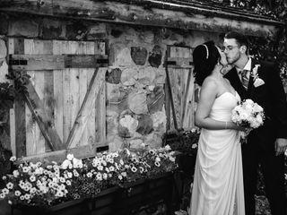 The wedding of Elaine and Robert