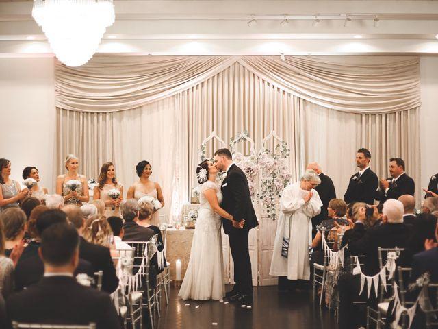 The wedding of Yvette and Steve