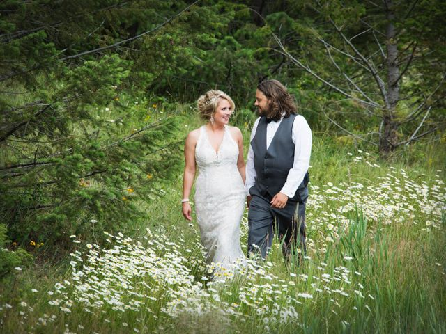 The wedding of Darby and Matthew