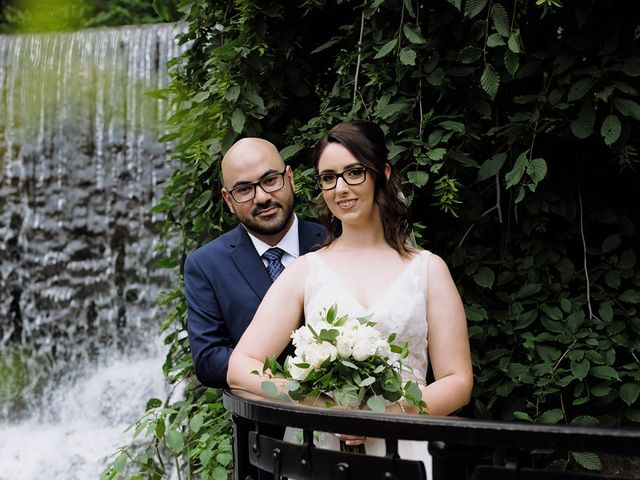 Mehar and Melissa's wedding in Ancaster, Ontario 2