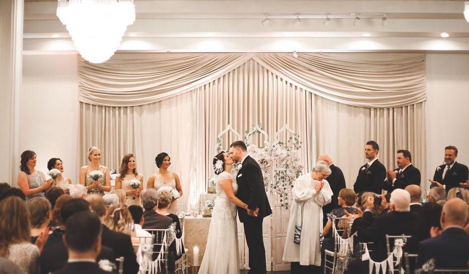 Steve and Yvette's wedding in Mississauga, Ontario