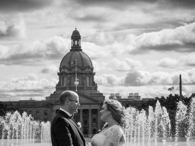 James and Stephanie's wedding in Edmonton, Alberta 9