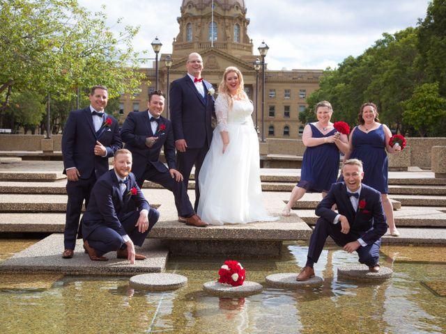 James and Stephanie's wedding in Edmonton, Alberta 10