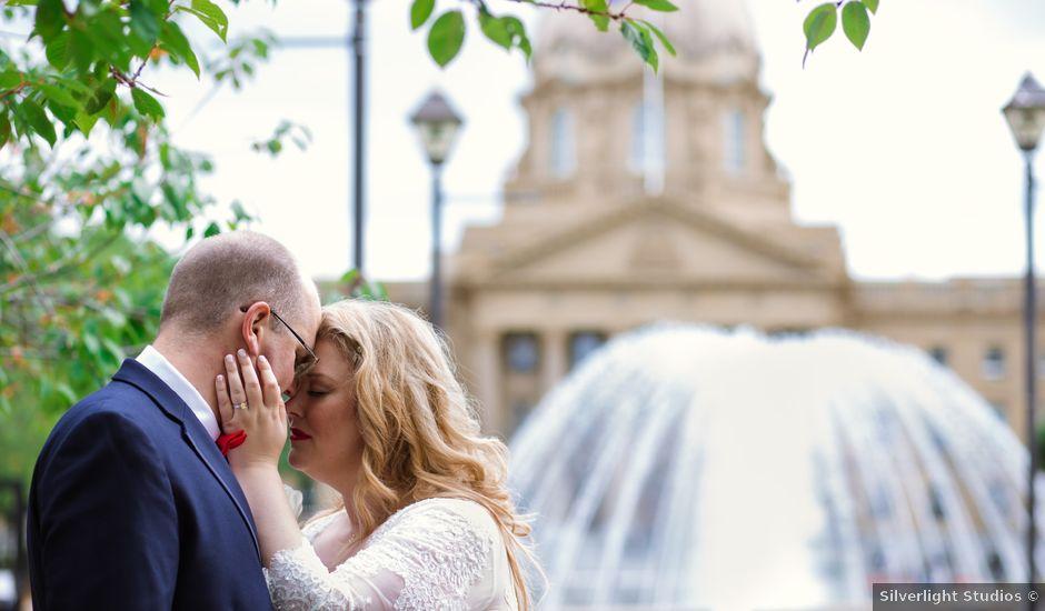 James And Stephanie's Wedding In Edmonton, Alberta