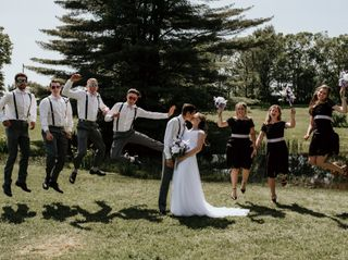 The wedding of Jess and Kyle 1