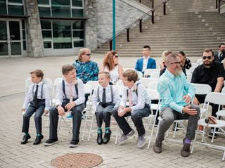 The wedding of Jamie and Kyle 1