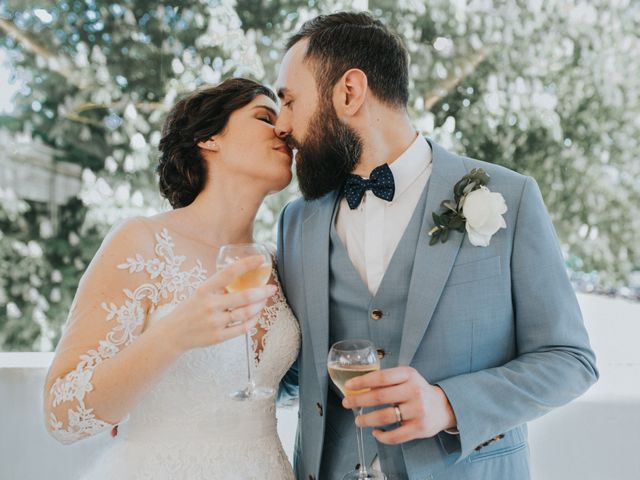 The wedding of Maxime and Céline