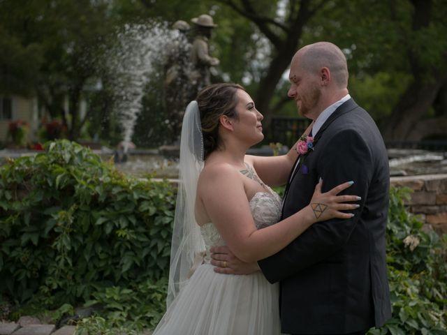 The wedding of Jordan and Brandon