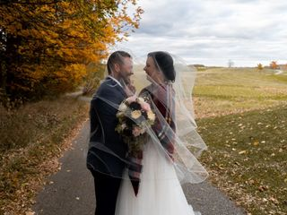 The wedding of Rebecca and Erik