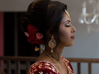 The wedding of Taslima and Asad 1