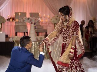The wedding of Taslima and Asad
