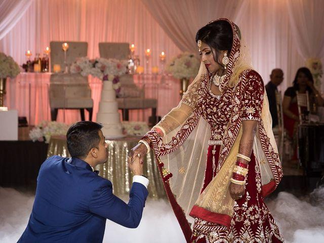 The wedding of Taslima and Asad