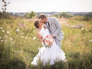 The wedding of Sam and Brett