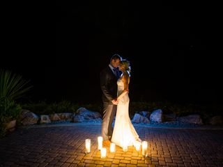The wedding of Kimberly White and Riley Frame