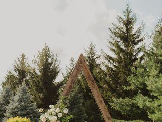The wedding of Tina  and Mo 1